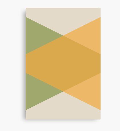 Mediados de Siglo - Amarillo Verde Lienzo