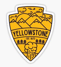 Yellowstone Sticker