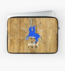 polo player polo player vintagewood old wood Laptop Sleeve