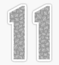 Eleven #7 Sticker