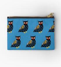 Folksy Owl Studio Pouch