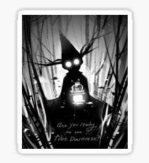 True Darkness Sticker