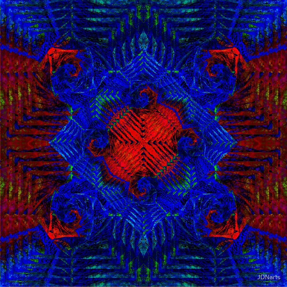 3D Batik Square by JDNarts
