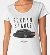 German Stance E28 (black) Women's Premium T-Shirt