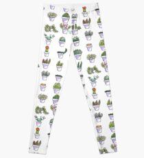 Plant Pattern Leggings