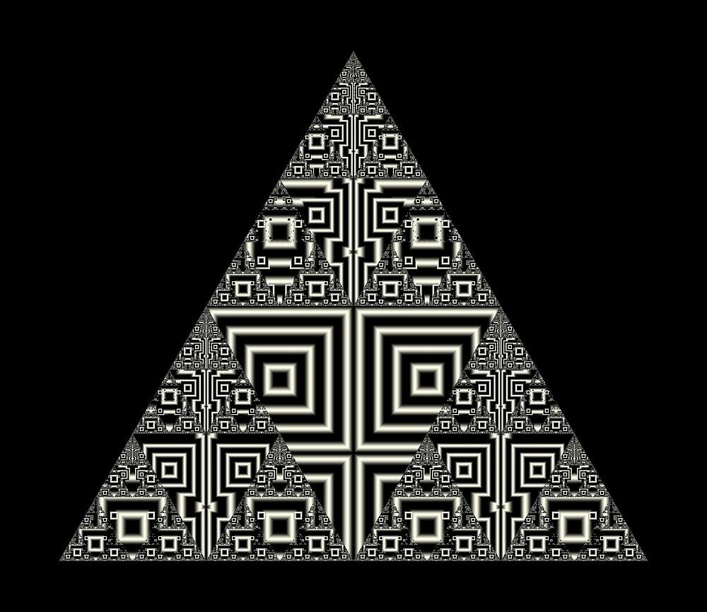 Sierpinski VII by Rupert Russell