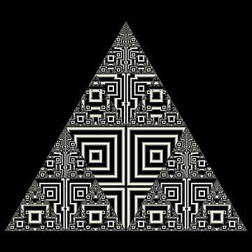Sierpinski VII by rupertrussell