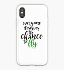 everyone deserves the chance to fly - wicked iPhone Case
