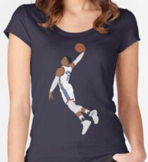 Russell Westbrook Dunk Fitted Scoop T-Shirt