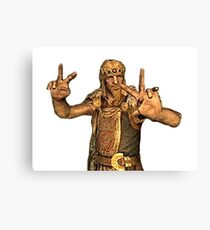 Jarl Ready for This Canvas Print
