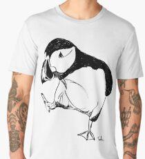 Puffin takes a walk Men's Premium T-Shirt