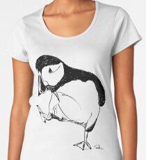 Puffin takes a walk Women's Premium T-Shirt