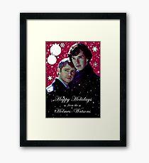 Happy Holidays 1 Framed Print