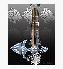 Keyblade Guitar #14 - Sleeping Lion Photographic Print
