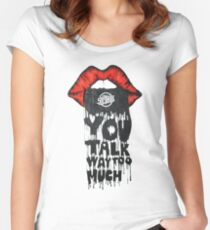 Strokes Women's Fitted Scoop T-Shirt
