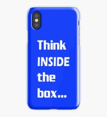 Think INSIDE the box #2 iPhone Case/Skin