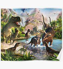 Jurassic Dinosaur Poster