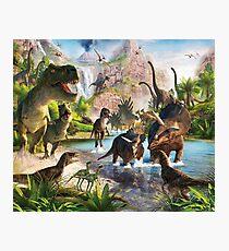 Jurassic Dinosaur Photographic Print