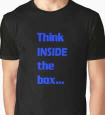 Think INSIDE the box #4 Graphic T-Shirt