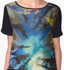 The Sistine Chapel, Revisited Chiffon Top