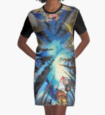 The Sistine Chapel, Revisited Graphic T-Shirt Dress