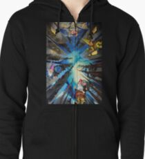 The Sistine Chapel, Revisited Zipped Hoodie