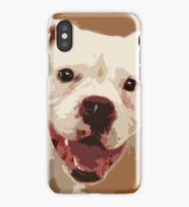 White Boxer Dog iPhone Case
