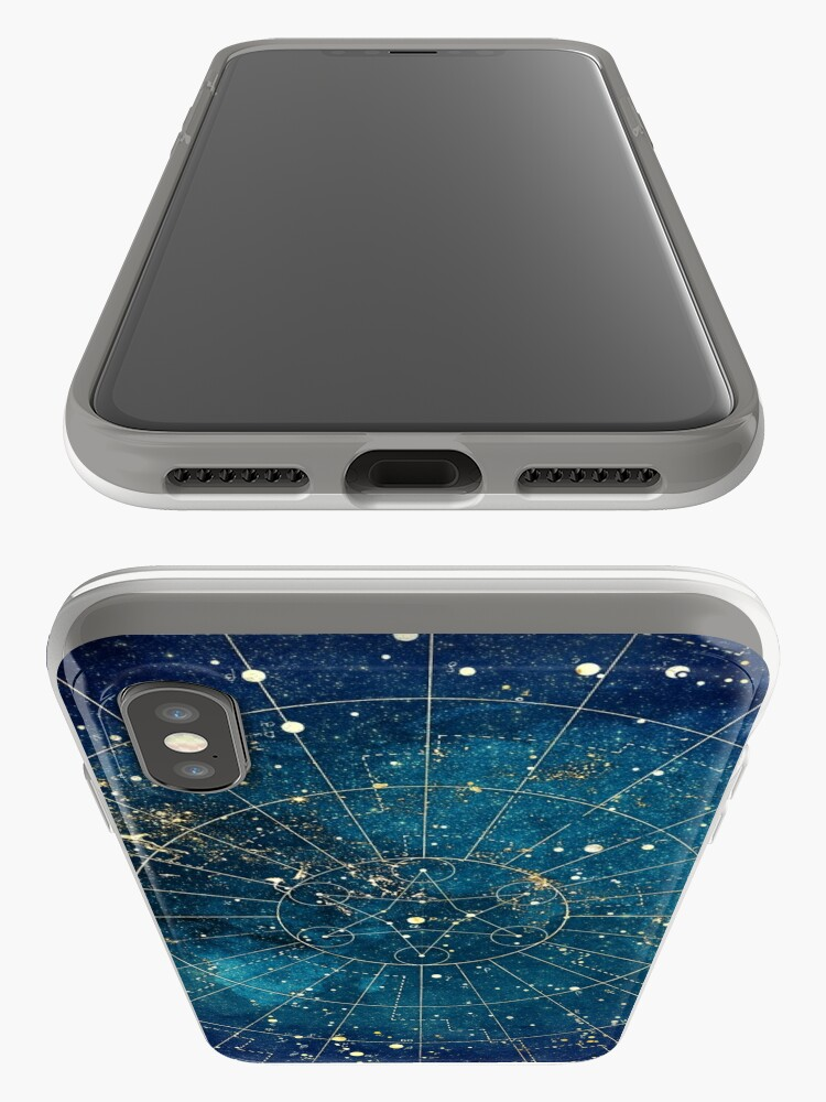 Alternate view of Star Map :: City Lights iPhone Case & Cover