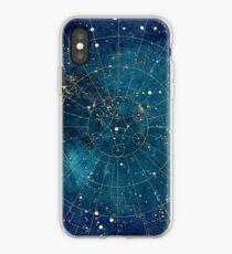 Vinilo o funda para iPhone Mapa de estrellas :: Luces de la ciudad
