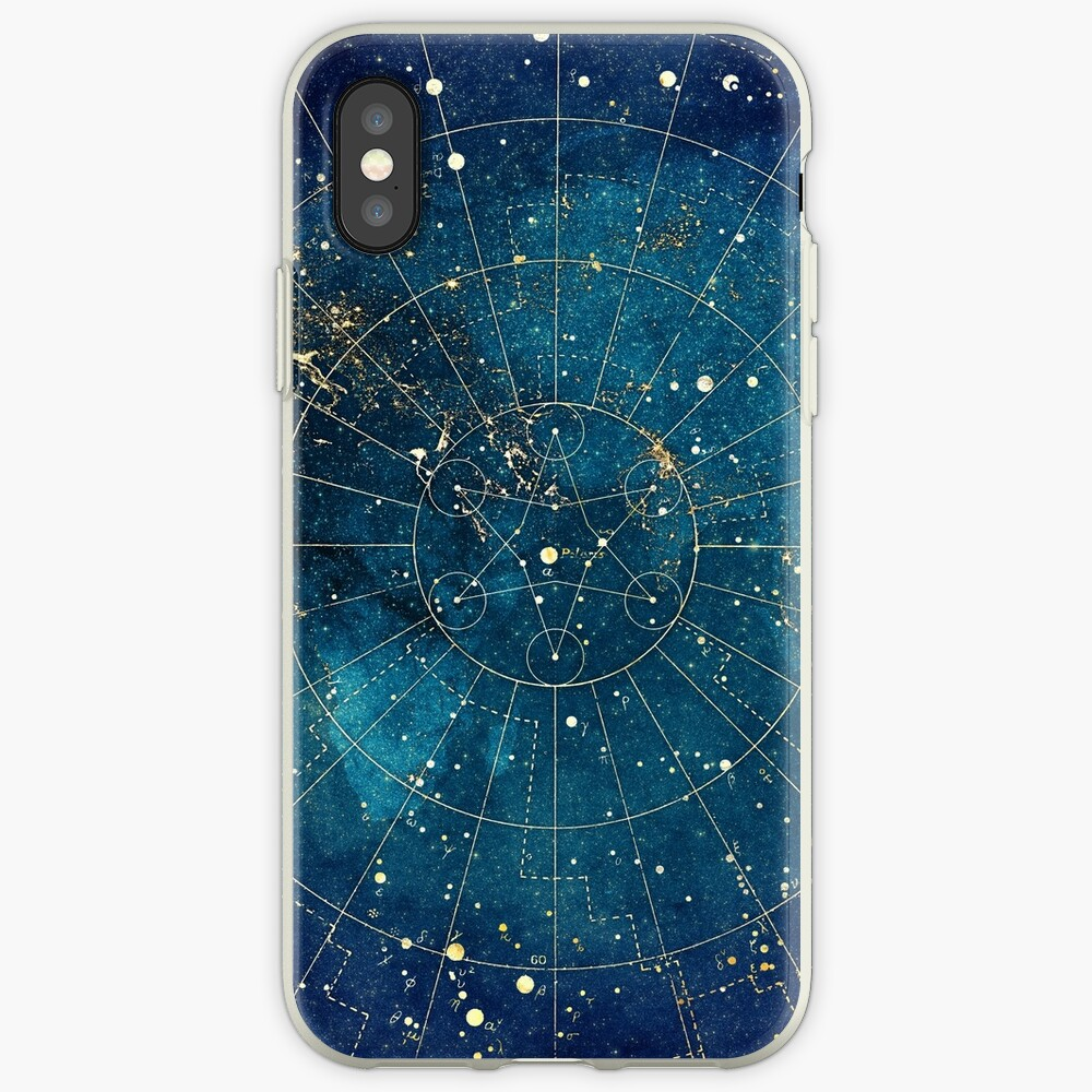Star Map :: City Lights iPhone Case & Cover