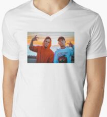 Cody Ko and Noel Miller Looking FRESH V-Neck T-Shirt