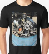 1960 VW Beetle Engine as Art Unisex T-Shirt