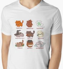 Hairy Pawtter Men's V-Neck T-Shirt