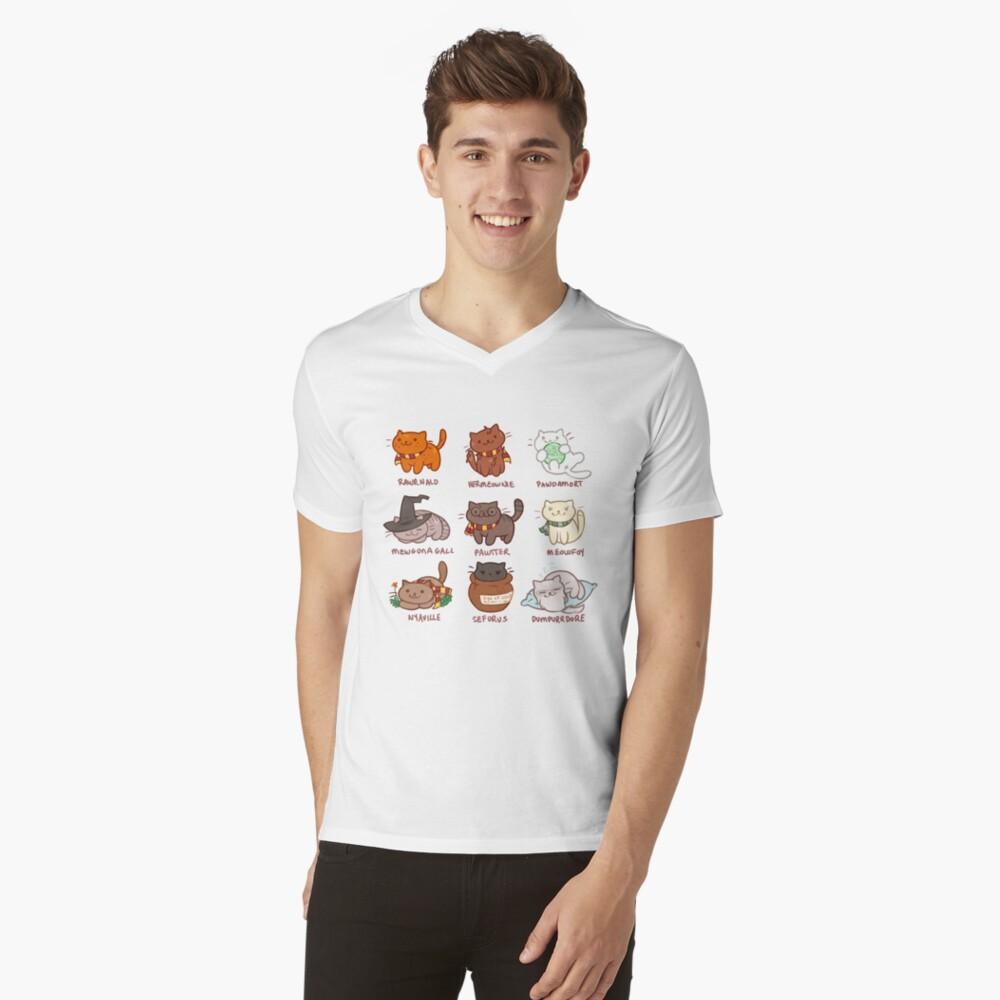 Hairy Pawtter V-Neck T-Shirt