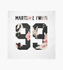 Martinez Twins - Dark Floral Scarf
