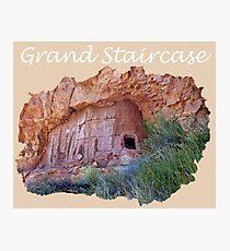 Grand Staircase escalante Photographic Print