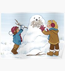 Little Durins and a snow Dwalin Poster