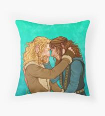 Durin Brothers Throw Pillow