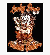 Lucky Devil Custom Guitars Photographic Print