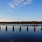Lakes Entrance by Jenelle  Irvine