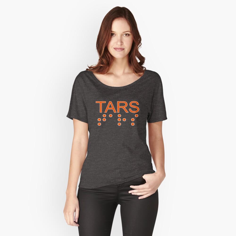 TARS Logo Women's Relaxed Fit T-Shirt Front