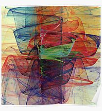 Abstract composition 548 Poster