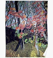 Time for autumn Leaves Poster