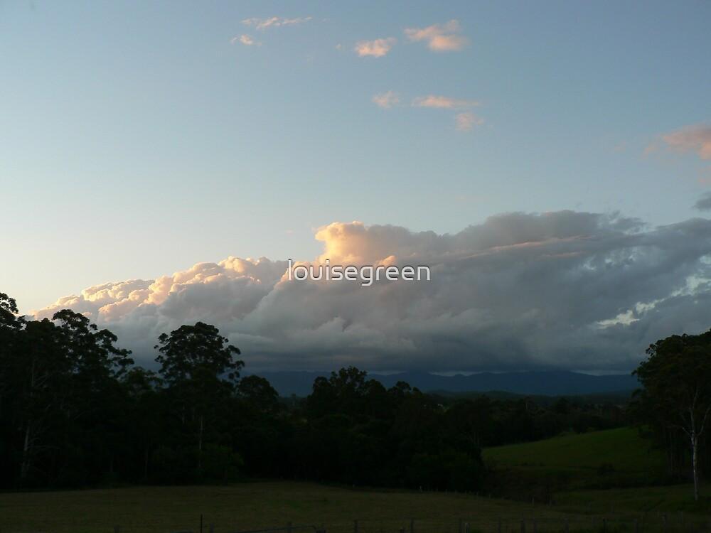 Evening Thunderhead - Lansdowne by louisegreen