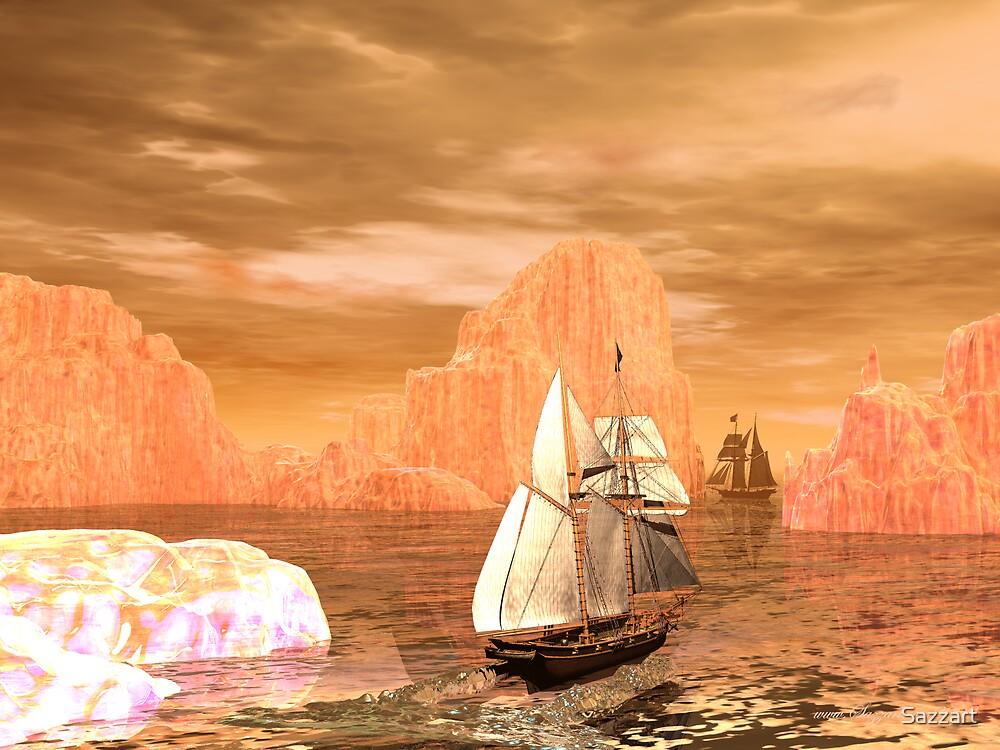 Sail Away by Sazzart