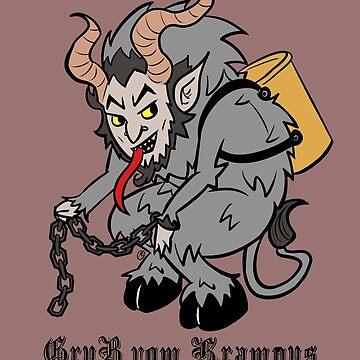 Lil Krampus in Grey by mochipanda