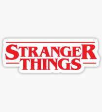 Stanger Things Sticker