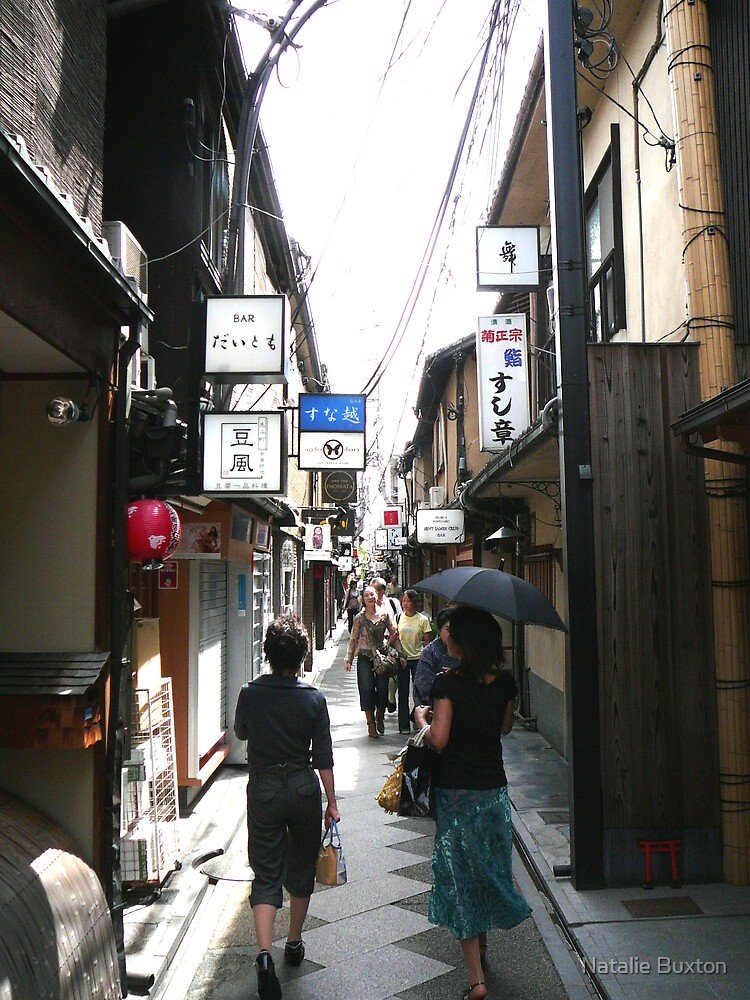 Kyoto Shopping by Natalie Buxton