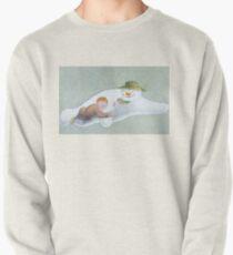 Bonhomme de neige marchant dans les airs Sweatshirt