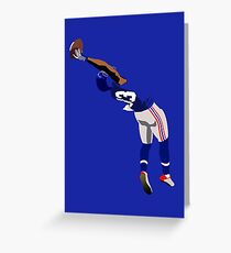Odell catch Greeting Card